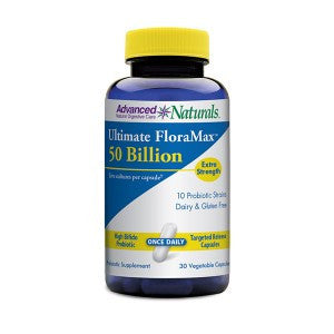 Advanced Naturals-Ultimate FloraMax 50 Billion (30 caps) - Alkaline for Life