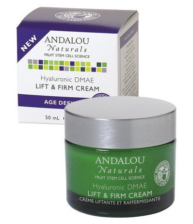 Andalou-Hyaluronic DMAE Lift & Firm Cream - Alkaline for Life