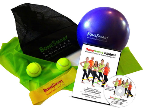 Pilates with Teresa-BoneSmart Pilates® DVD and Props Bundle - Alkaline for Life