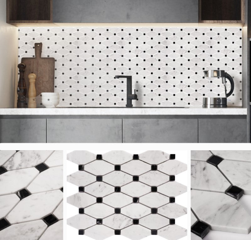 2021 Limited Run Marble Mosaic Tile