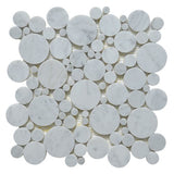 carrara-white-marble-mosaic-tile-in-mixed-rounds-pattern