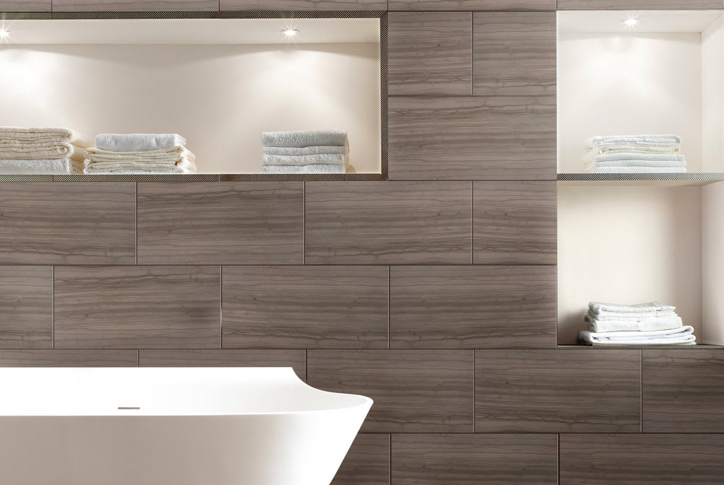Athens Brown Marble Wall and Floor Field Tile in Various Sizes and Finishes - TileBuys