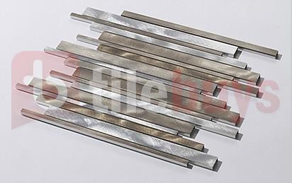 Brushed Aluminium Long Strip - TileBuys