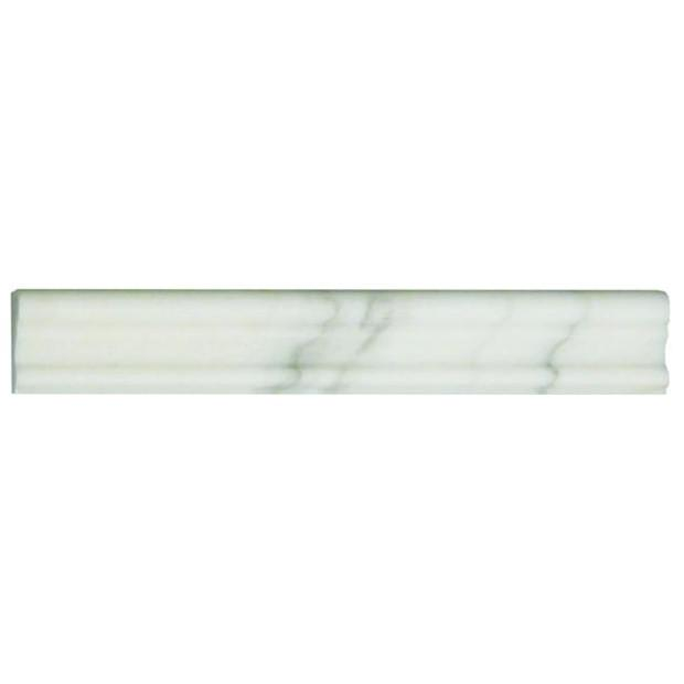 Calacatta Gold Marble Trim Molding in Various Sizes - Polished - TileBuys