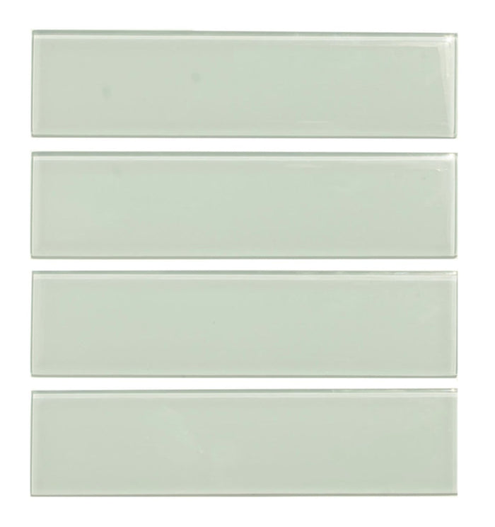 "Coastal Green Glass 3x12"" Subway Tile - TileBuys"