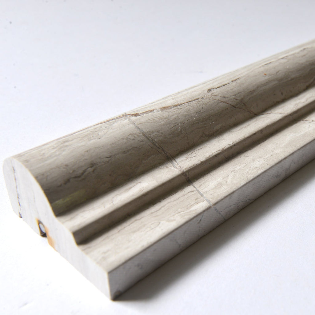 Silver Oak Marble Trim Molding in Various Sizes - Polished - TileBuys