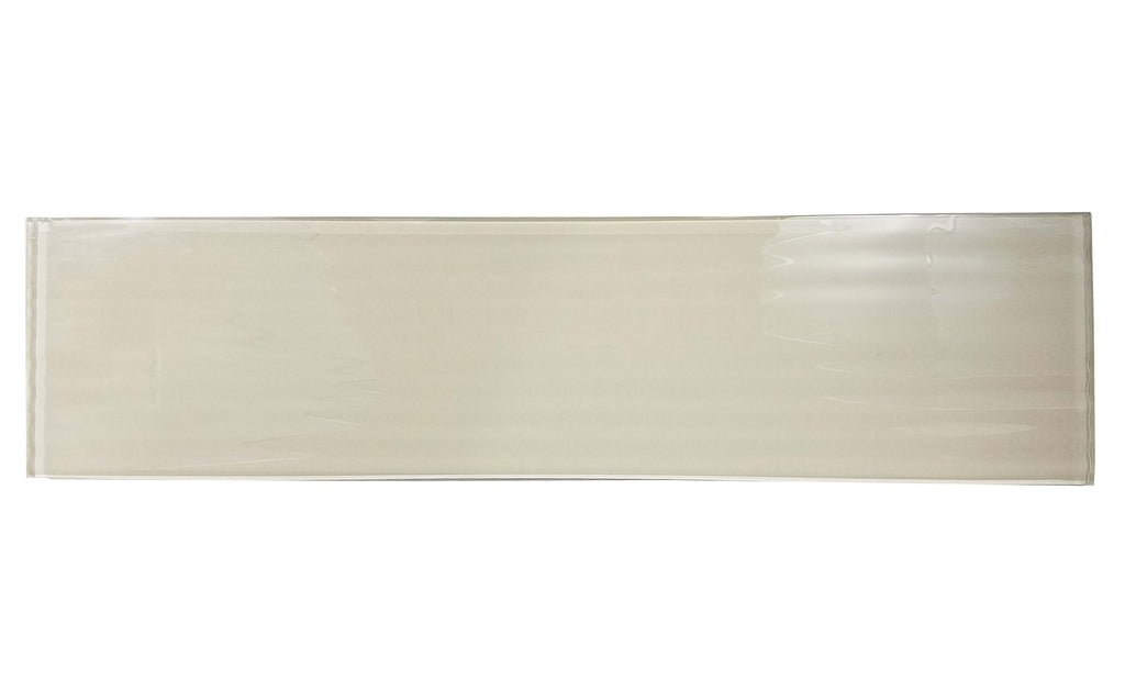 "Tan Glass 4x16"" Subway Tile in Textured Madrid - TileBuys"