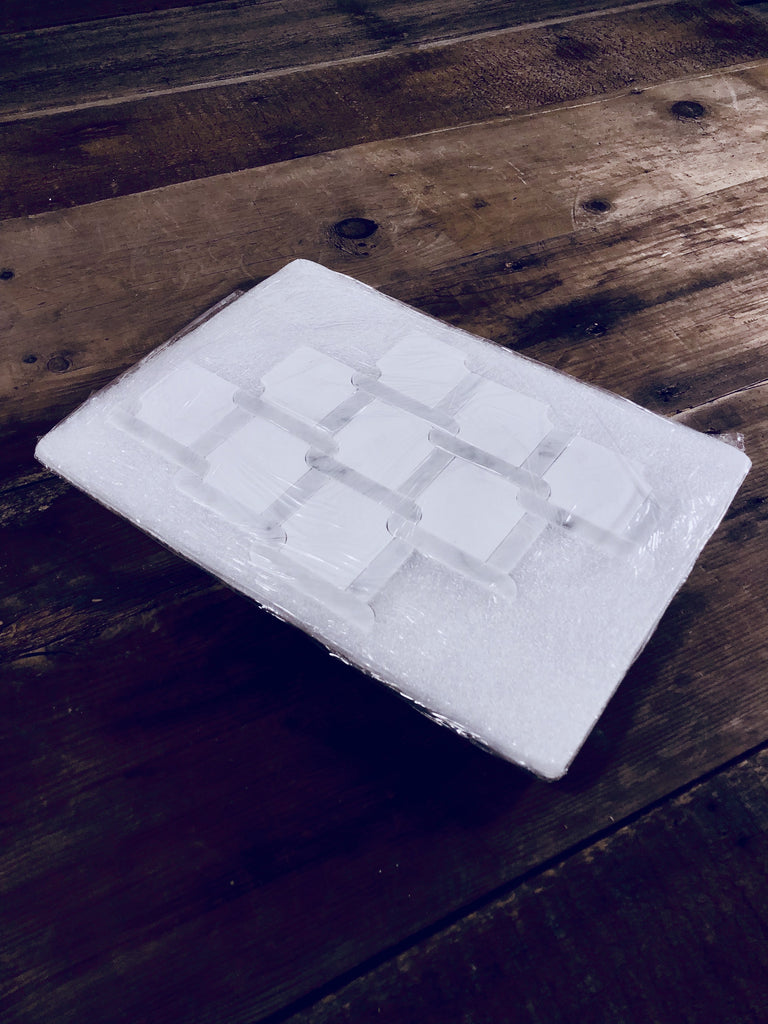 White Thassos and Carrara Bianco Marble Waterjet Mosaic Tile in Princess Weave - TileBuys