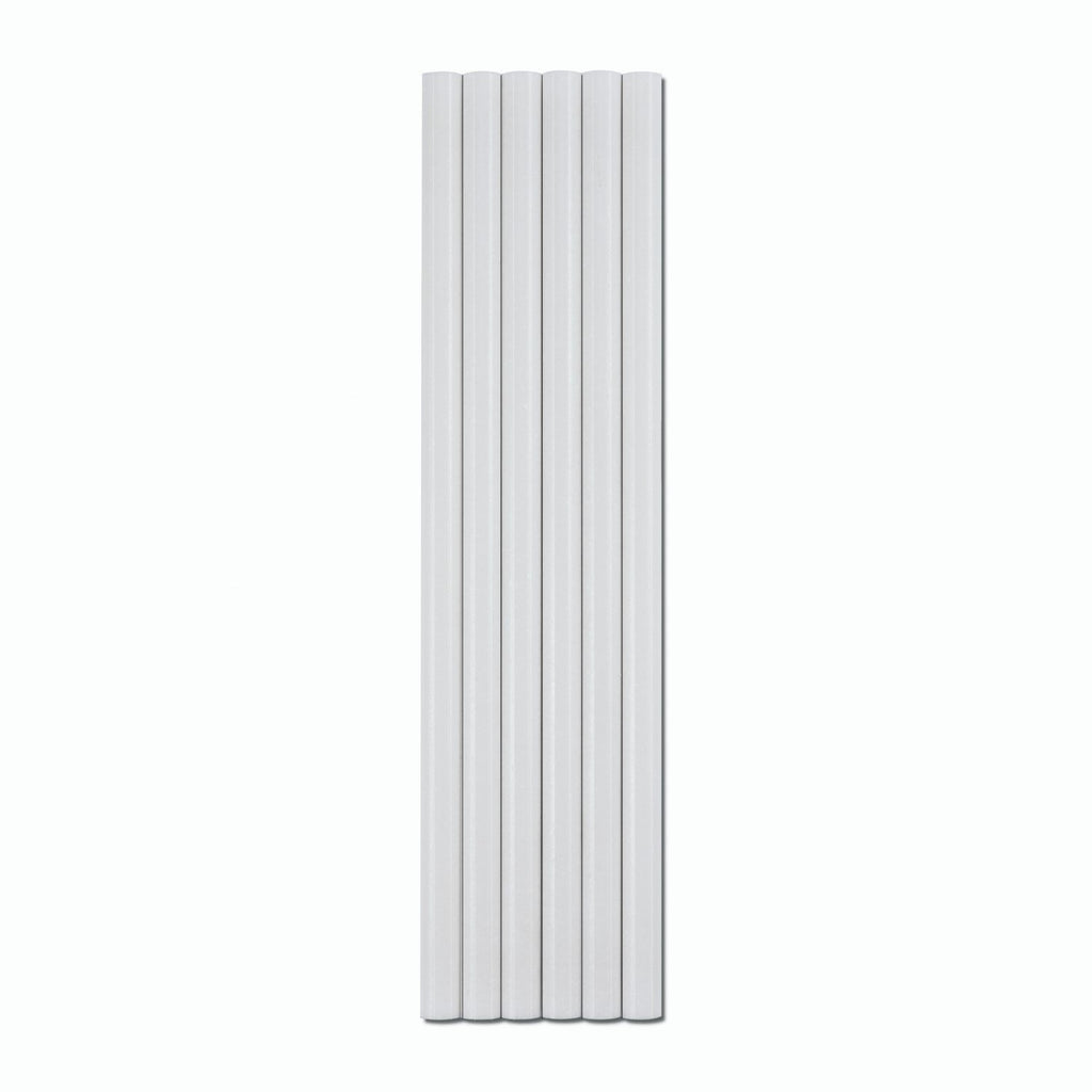 "White Thassos Marble Tile Trim - 0.5"" x 0.75"" Pencil Rail - TileBuys"