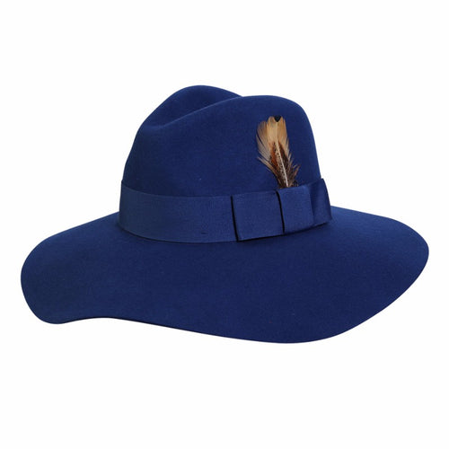 Fancy Fedora-Blue