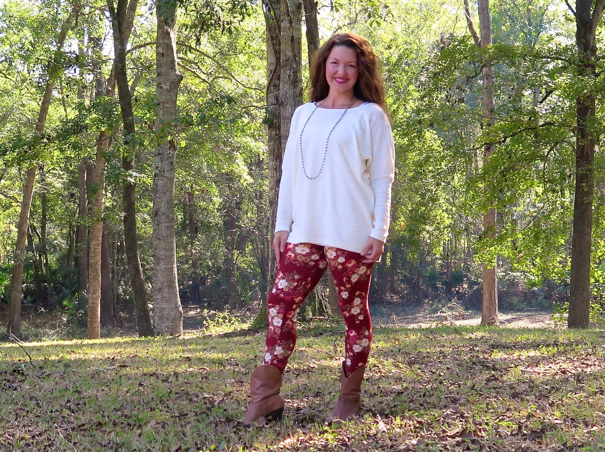 Cozy Sweater and Leggings Sewing Patterns are Perfect for Fall