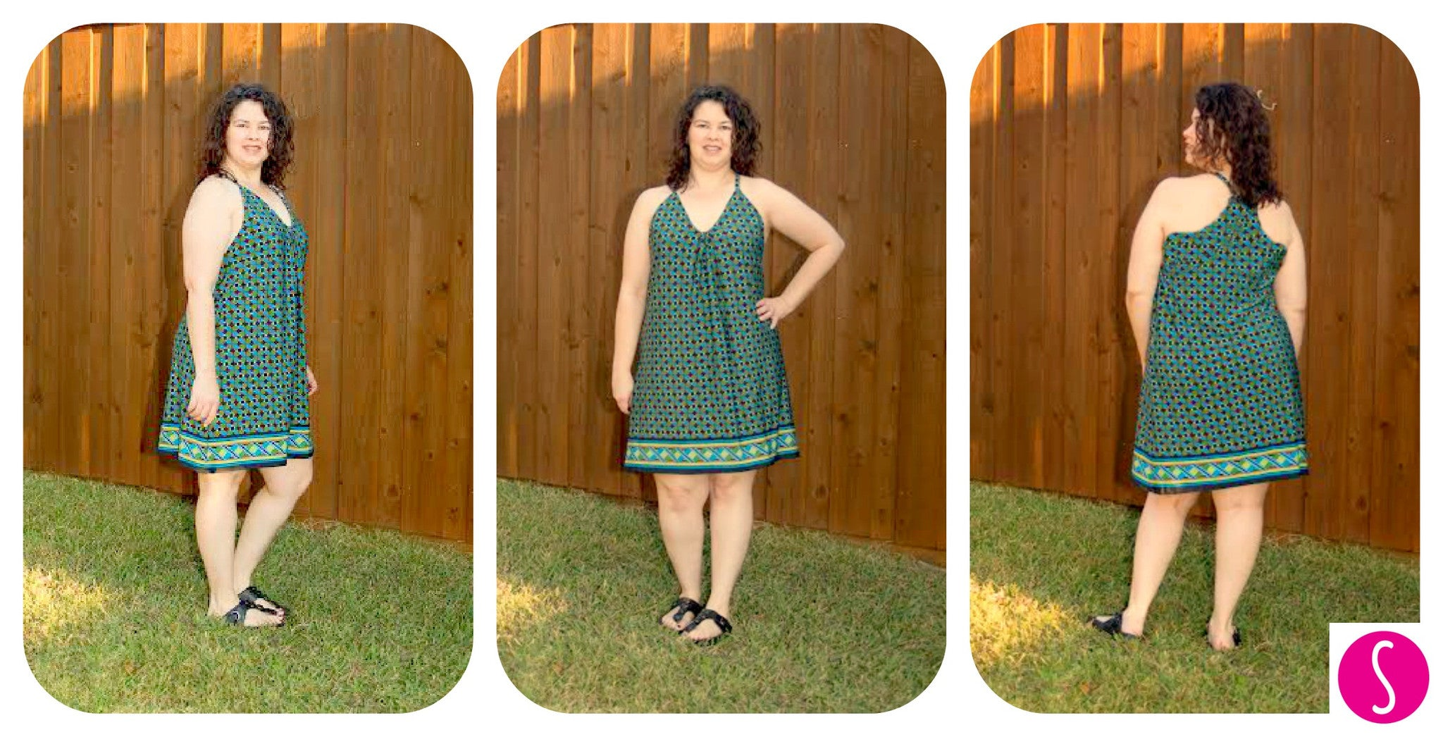 Women's Swing Dress sewing pattern