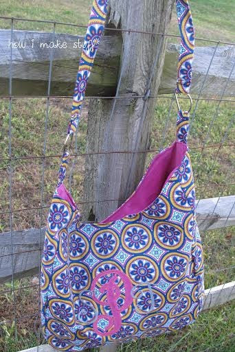 The Slouch Bag sewing pattern