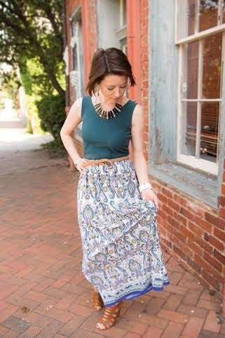 The Magazine Street Maxi Dress for Women XS-XXXL (Sizes 0-26)