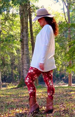 Women's Leggings PDF sewing pattern (sizes 0-22 / XS-XXL)