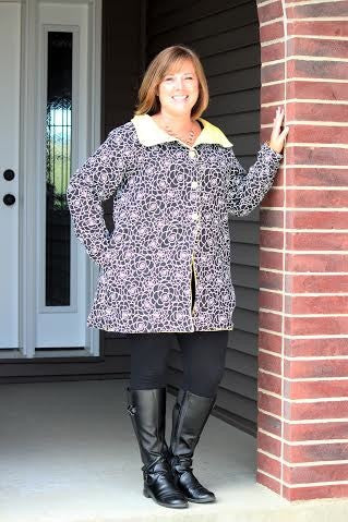 Esplanade Coat Sewing Pattern