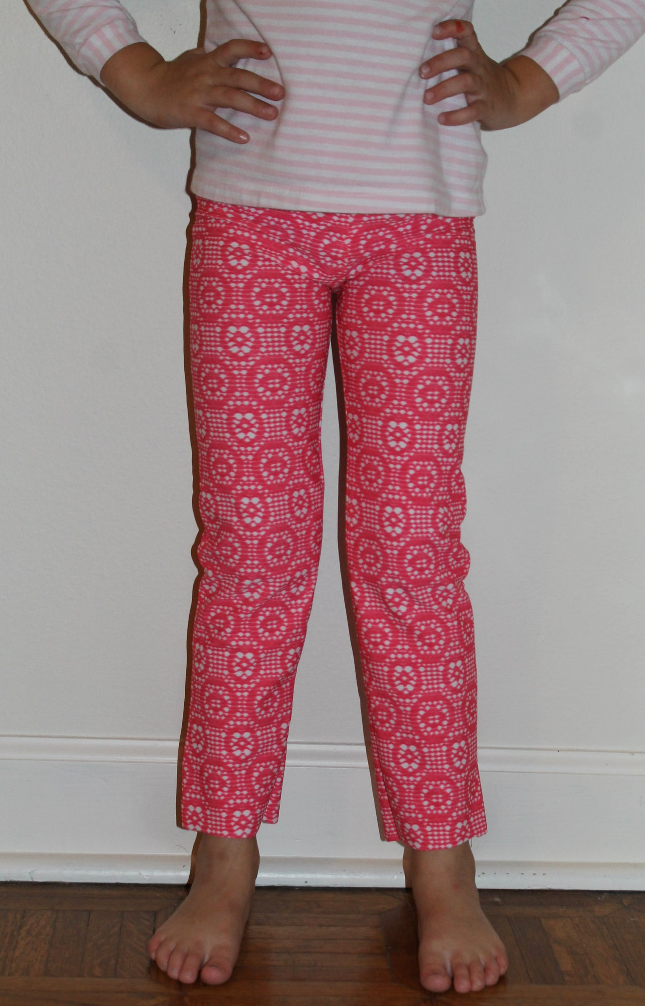 Girls Leggings Sewing Pattern