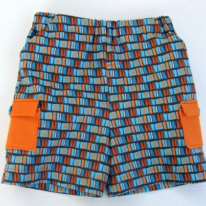Boy's Classically Cool Cargo Shorts (Sizes 3m-8yrs)