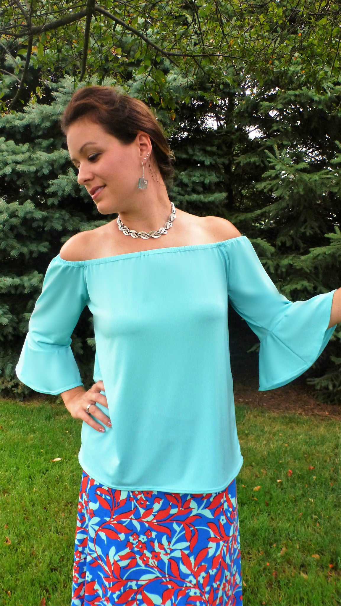 Women's Off the Shoulder Shirt
