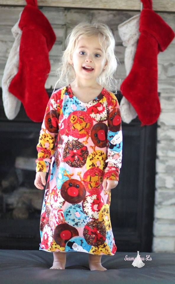 Girls Nightgown Pattern 6m-16yrs