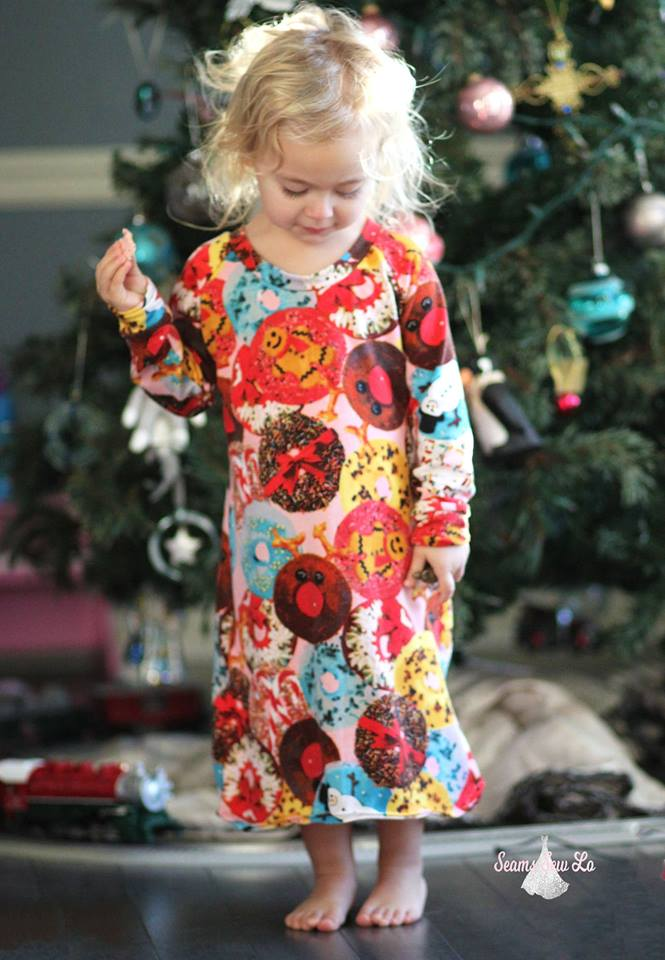 Mommy and Me Nightgown Sewing Pattern