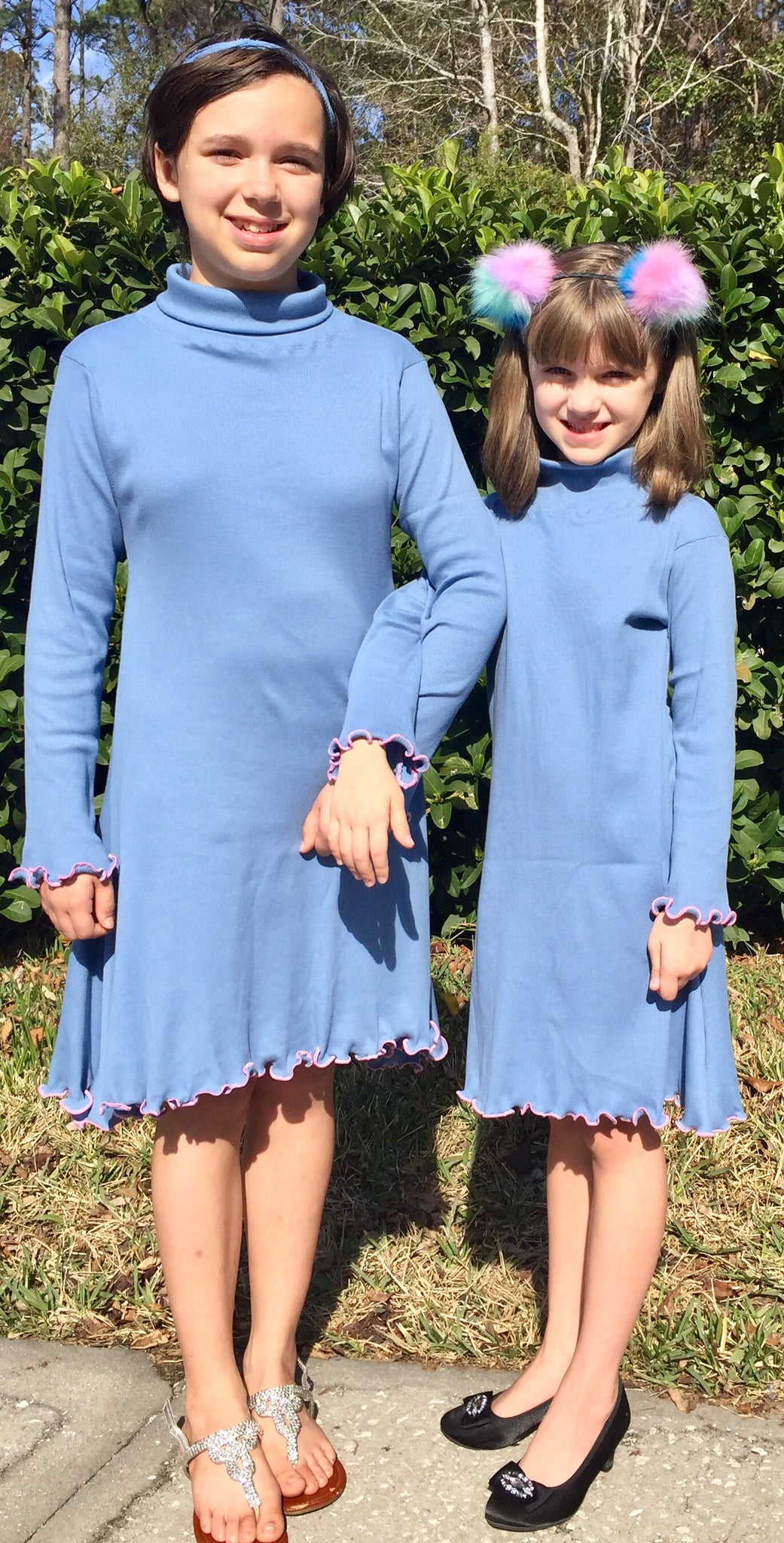Girl's Jolene Turtleneck Dress and Top pattern 2T-16yrs