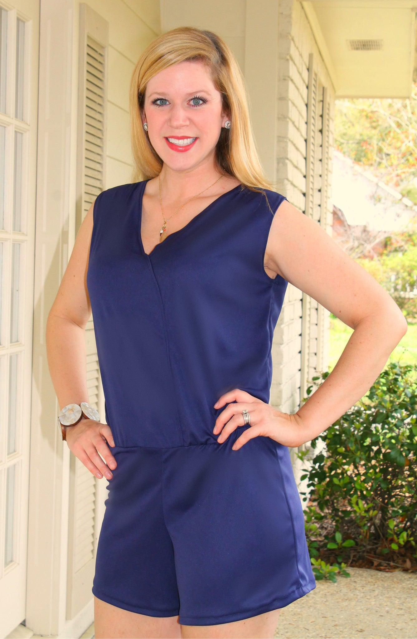 Women's Oak Street Romper PDF sewing pattern