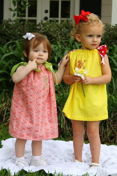 Classic Pillowcase Dress for Girls (Sizes 6m-6yrs)