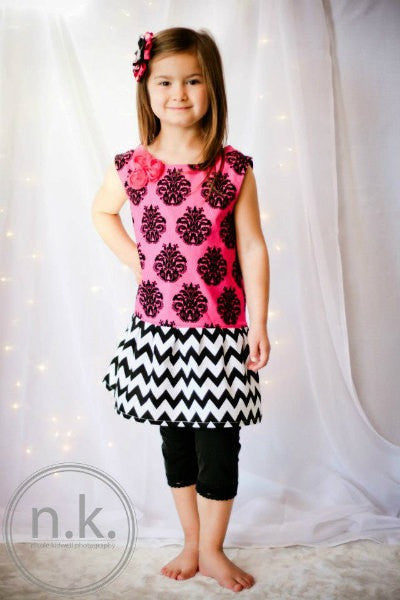 Dainty Jane Dress for Girl's (Sizes 6m-6yrs)