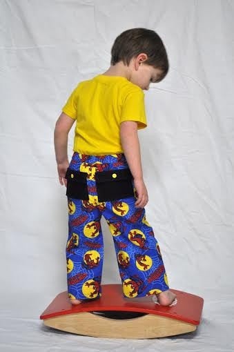 Belted Cargo Pants for Boys and Girls (Sizes 3m-12yrs)