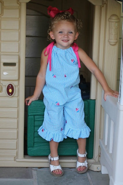 The Rory Ruffle Romper for Girls (6m-6yrs)