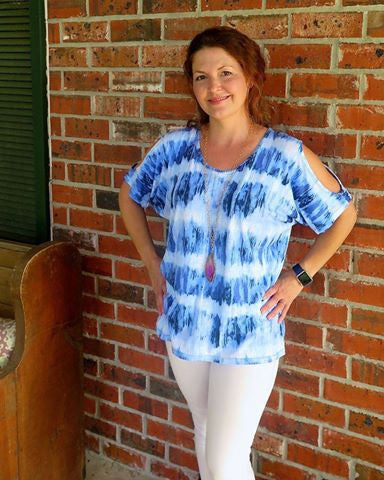 Cold Shoulder Top Sewing Pattern