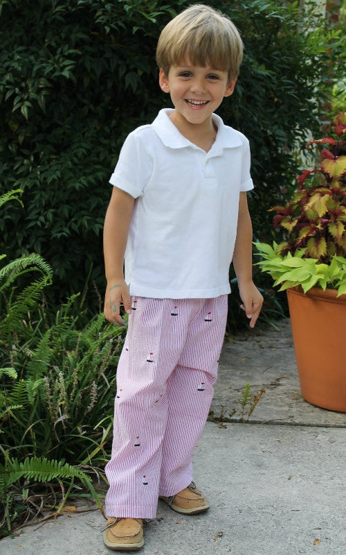 Boy's Classic Fit Pants (Sizes 3m-8yrs)
