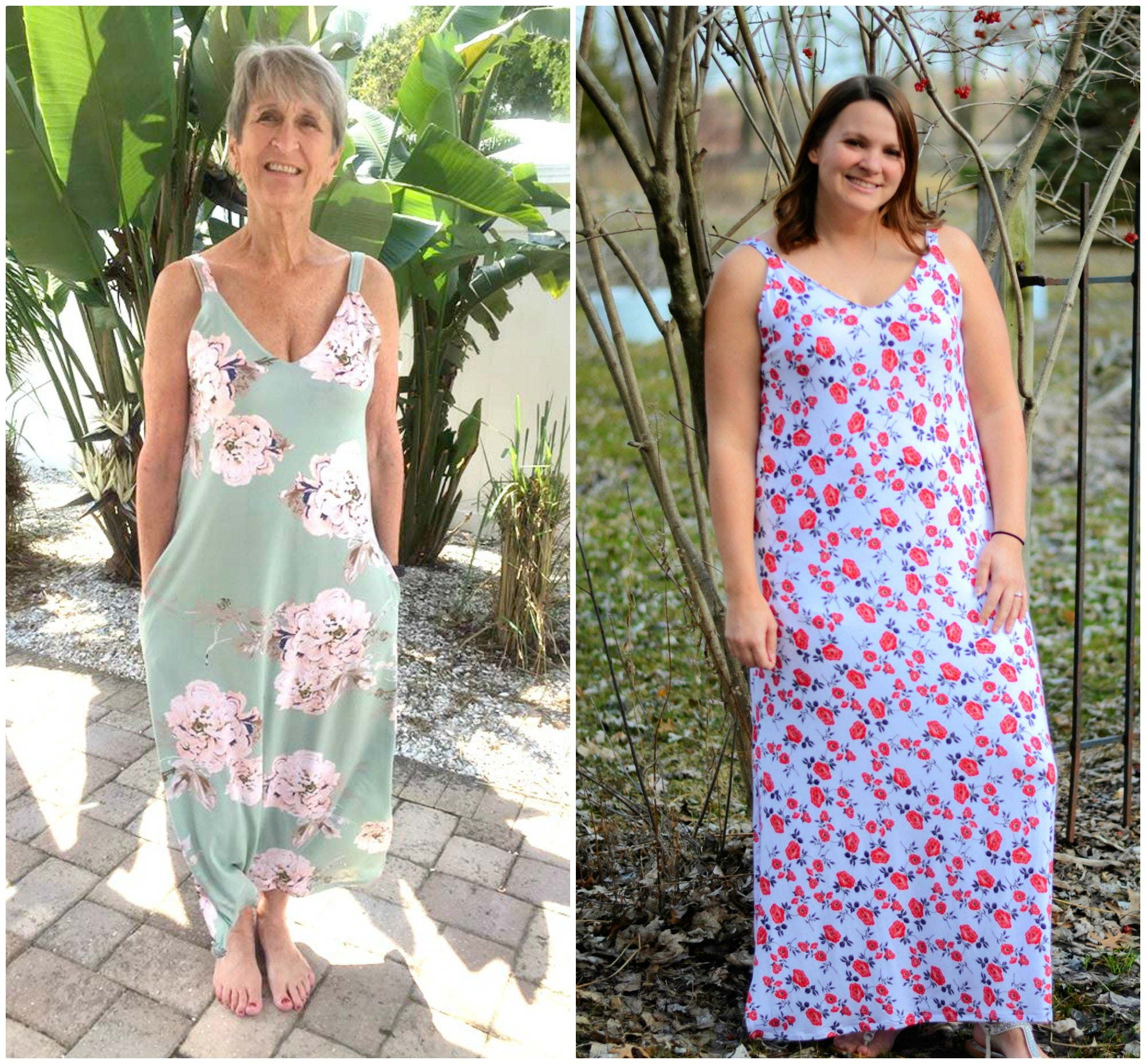 Milly Maxi, Dress and Top Sewing Pattern for Women