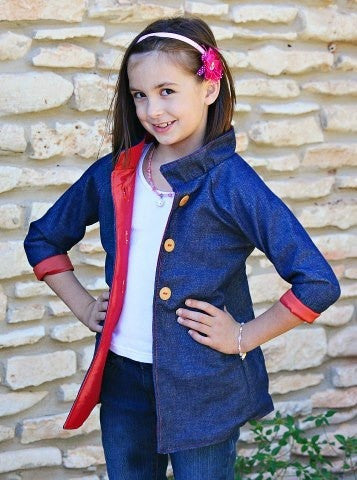 Little Lady Jacket for Girls (Sizes 6m-8yrs)