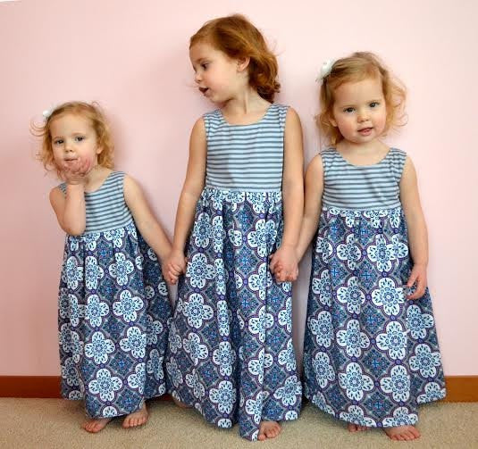 The Magazine Street Maxi Dress for Girls (Sizes 2yrs-16yrs)