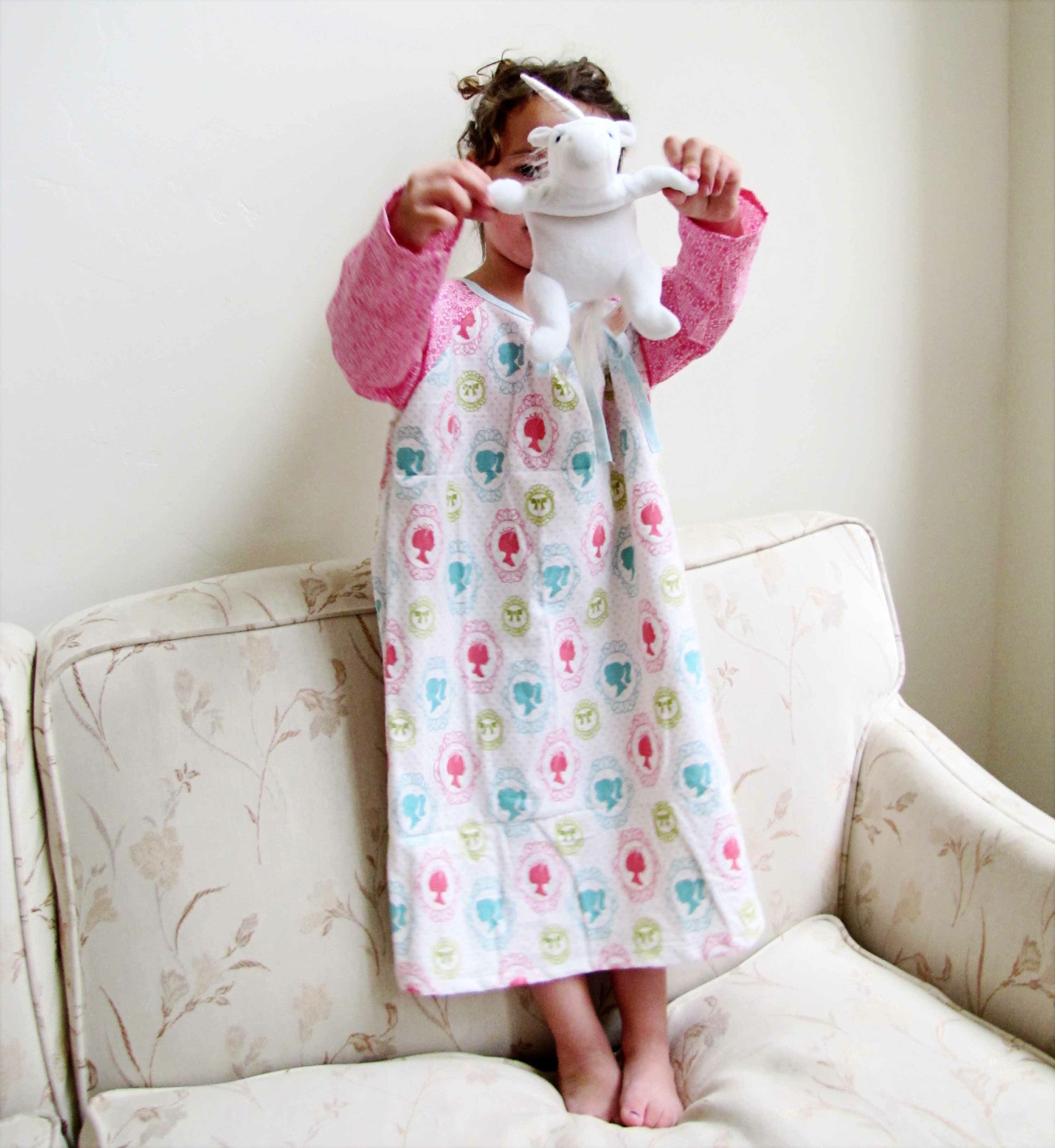 Nightgown Pattern Cool Decorating Ideas