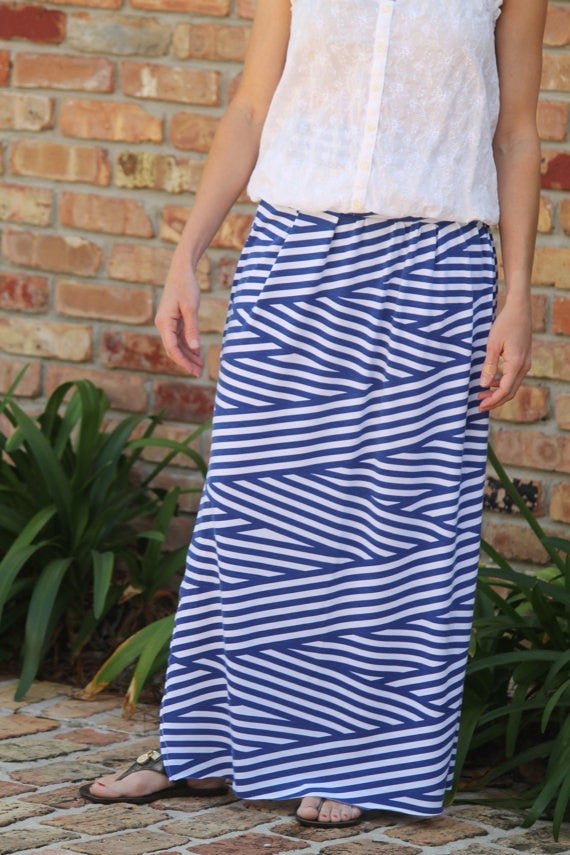 Knit Maxi Skirt for Women XS-XXL (Sizes 0-22)