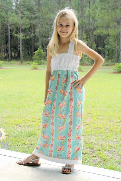 Tween/Teen Maxi Dress for Girls (Sizes 8yrs-16 yrs)
