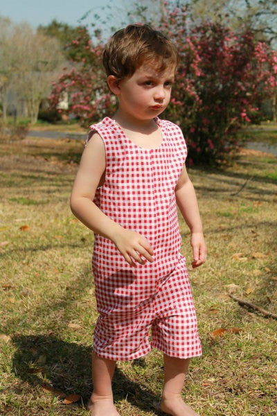 Boy's Classic Romper (Sizes 6m-4T)
