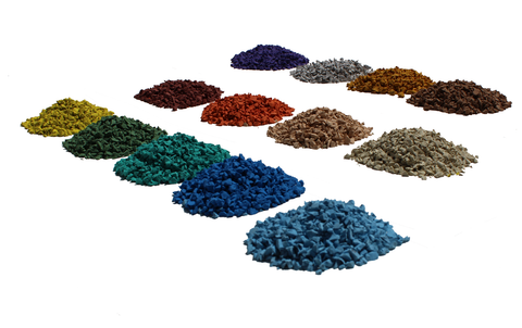 Image of Rubber Designs EPDM Granules color pallet