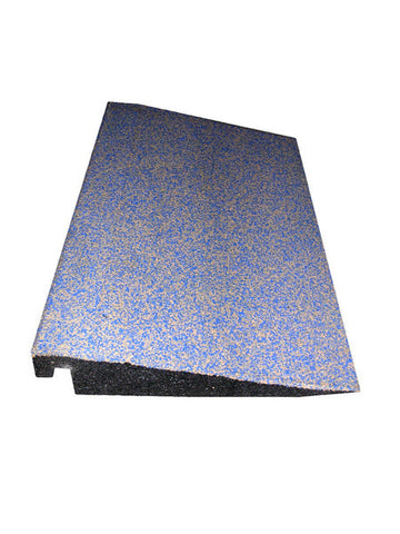 Rubber Designs Interlocking Tile Ramp EPDM