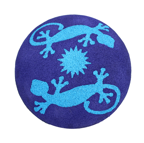 Rubber Designs Shroom Stepper lizard pattern