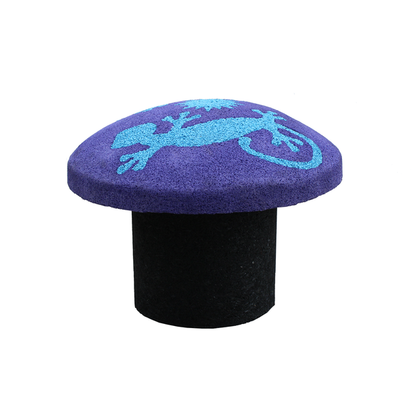 Playground accessories epdm shroom steppers rubber designs