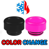 "Black to Pink Color Change Drip Tip - Mouth Piece - ( 810 Size  ) ""12.5mm Socket"""