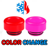 "Red to Pink Color Change Drip Tip - Mouth Piece - ( 810 Size  ) ""12.5mm Socket"""