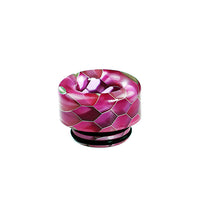 Magenta Viper Resin Drip Tip - Mouth Piece - ( 810 Size  )