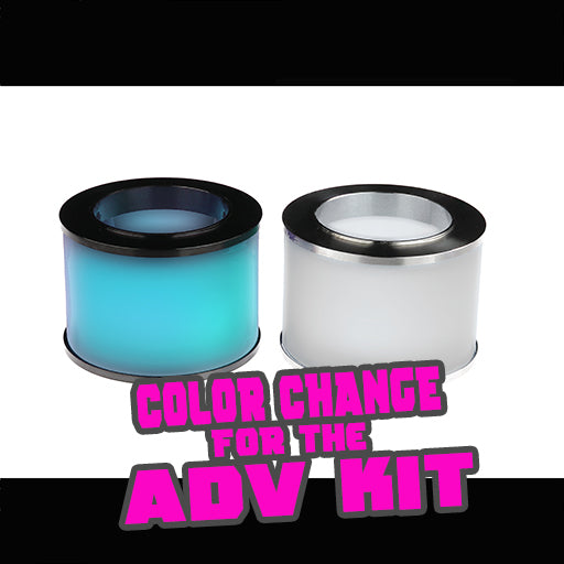 "Cyan to Frosted COLOR CHANGE Quartz for the ""ADV KIT"""
