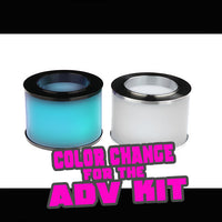 Cyan to Frosted COLOR CHANGE Quartz for the