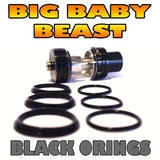 BLACK ORINGS BIG Baby Beast TFV8 O-Rings